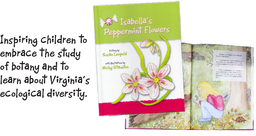 Isabella's Peppermint Flowers by Susan Leopold